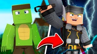 How to BECOME THOR in MINECRAFT! - Minecraft avengers
