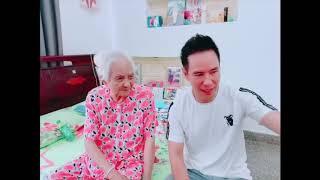 Về quê mừng 8.3 với bà nội cùng gia đình Lý Hải Minh Hà