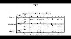 Poulenc - Quatre petites prières de Saint François d'Assise (1948)