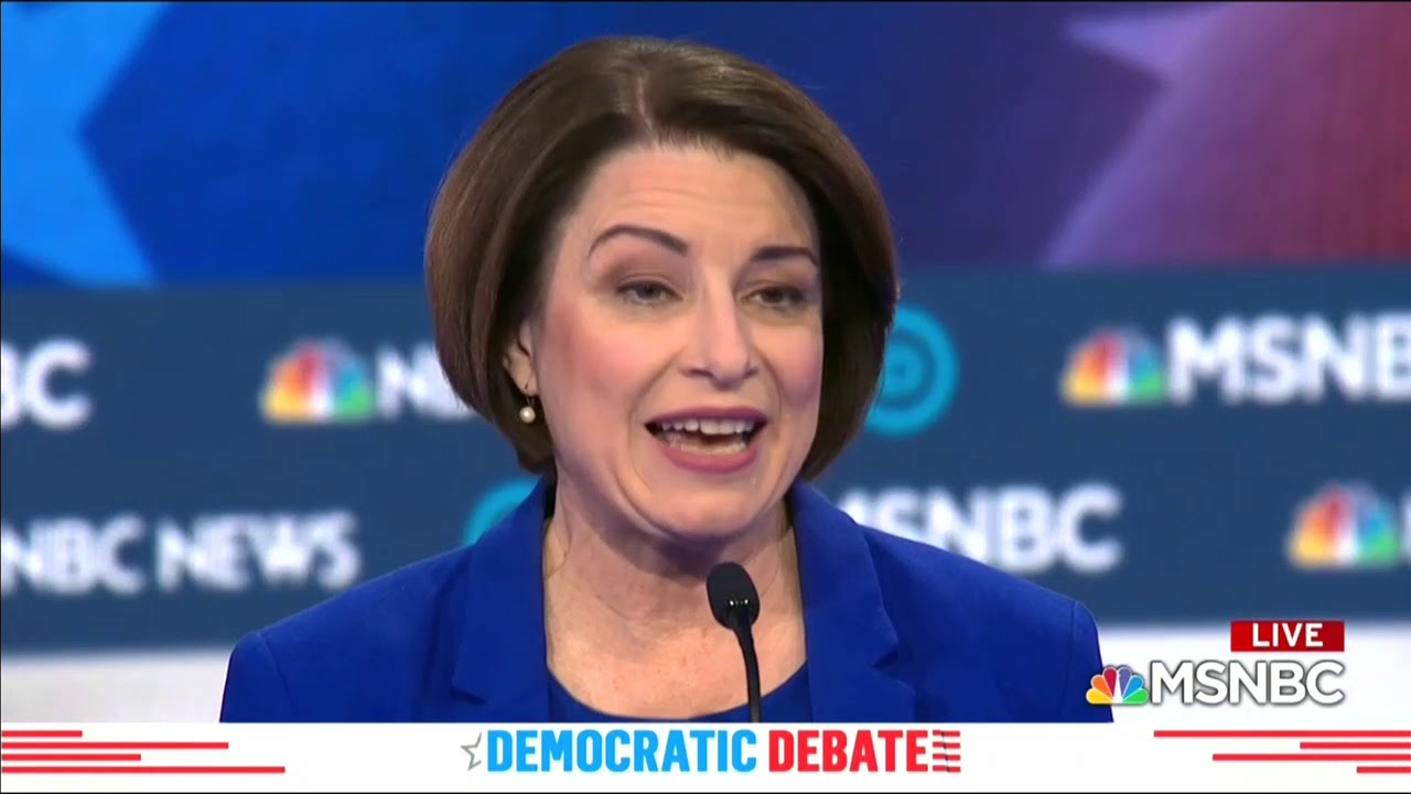 """Chuck Todd Calls Out Klobuchar For Getting """"It Wrong"""" In Past Prosecutions"""