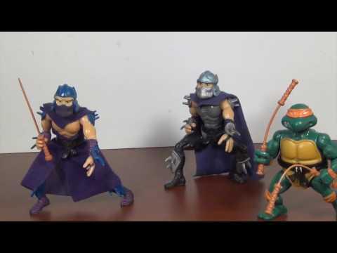 Playmates Teenage Mutant Ninja Turtles Shredder And Toon Shredder