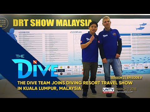The Dive joins diving expo network in Asia