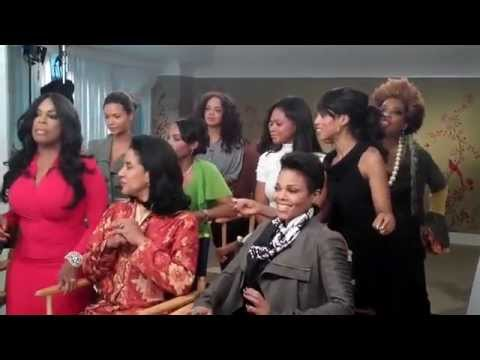 Janet, Tyler & For Colored Girls Cast Behind The Scenes of ET Video