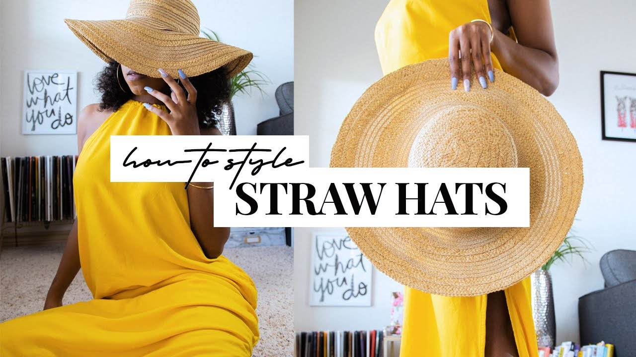 [VIDEO] - HOW TO STYLE | Straw Hats for Spring and Summer (Lookbook) 8