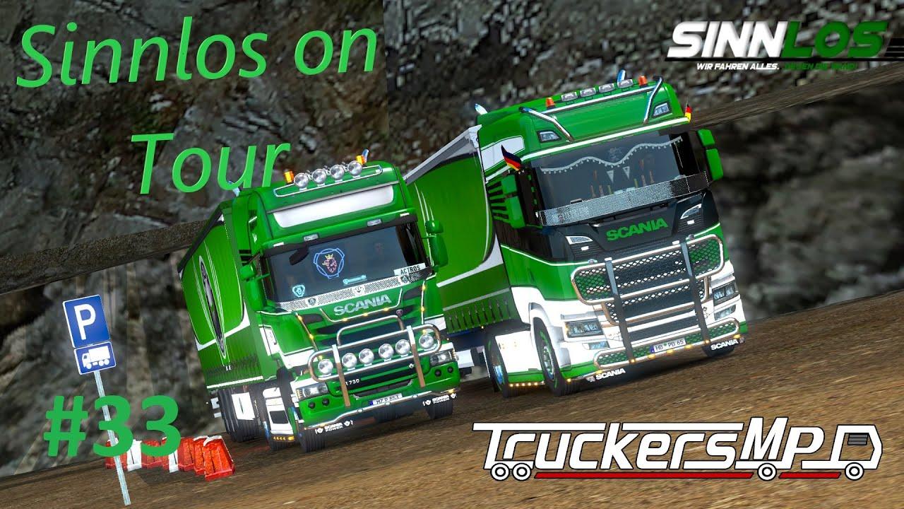 Sinnlos on Tour #33 | Von Haltungskunst bis hinzu Rutscherei | TruckersMP