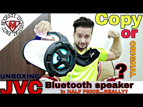 JVC BLUETOOTH SPEAKER,UNBOXING AND REVIEW (FAKE OR ORIGINAL)??