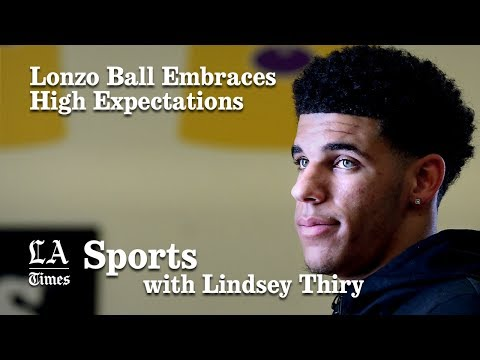 Lakers No. 2 pick Lonzo Ball embraces high expectations