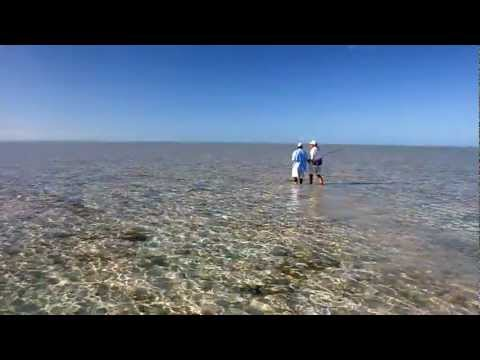 Bonefish Fishing On Acklins Island, Bahamas
