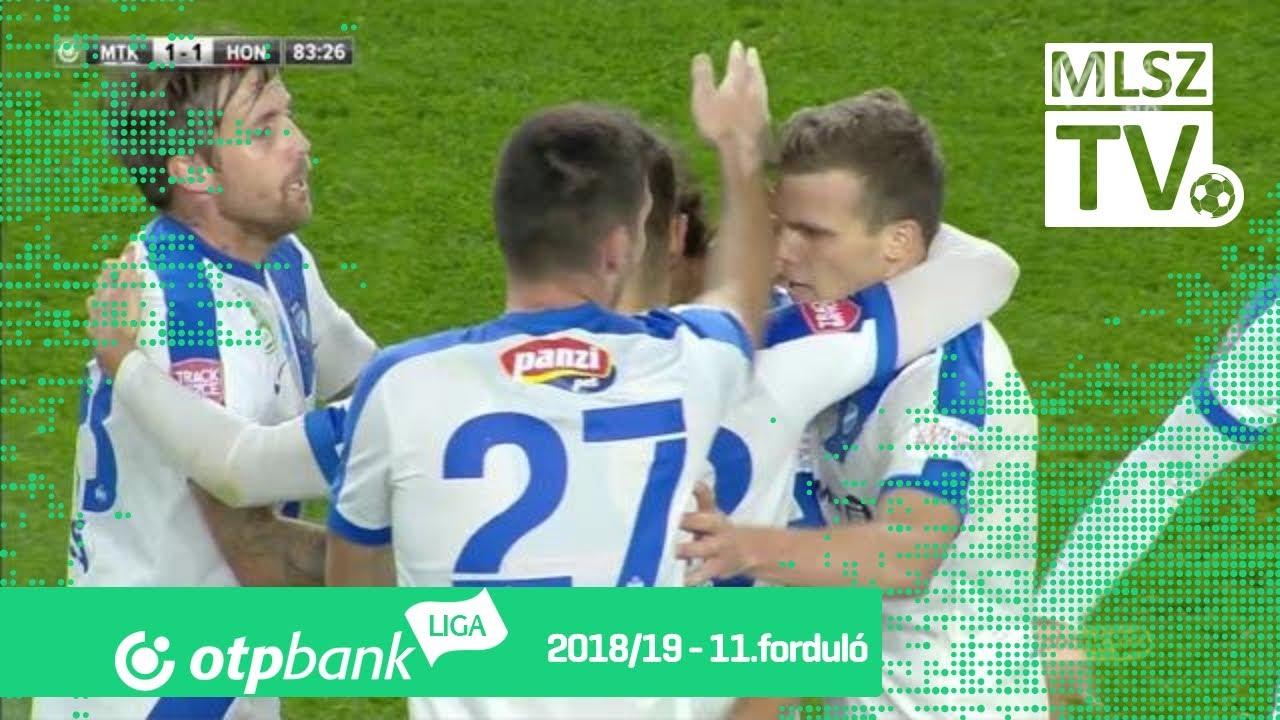 Bognár István gólja az MTK Budapest  - Budapest Honvéd mérkőzésen