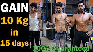 how to gain weight fast naturally in 15 days guaranteed | vajan kaise badhaye hindi me tips