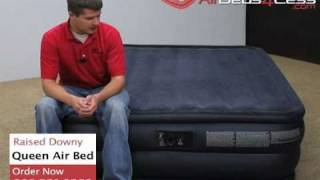 Raised Queen Downy Air Bed Intex