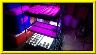 How To Make A Seed Starting Tower With Homemade Led Grow Light Panels Part Ii