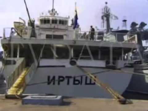 Vladivostok Harbor, Russia's Pacific Fleet Footage