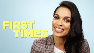 Rosario Dawson Tells Us About Her First Times
