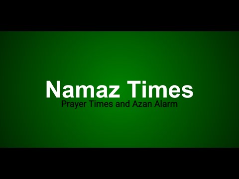 Namaz Times Android App