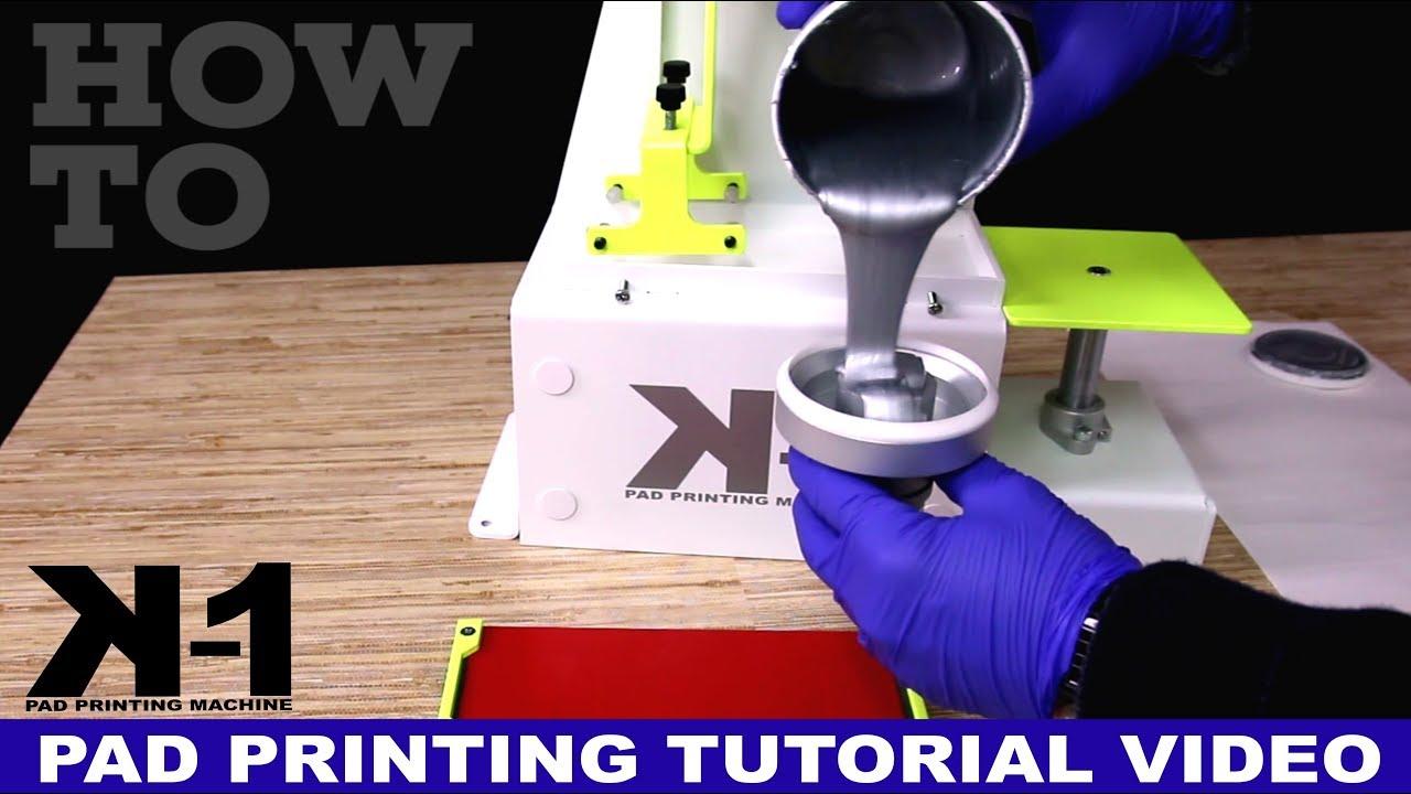 Pad Printing Machines & Inks - Keygadgets