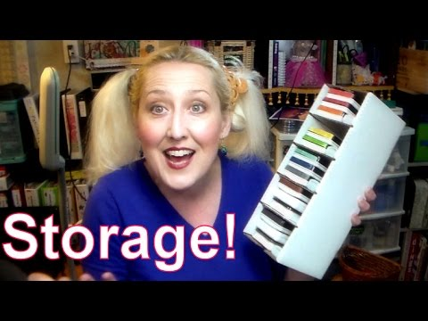 cheap and easy craft and hobby storage!