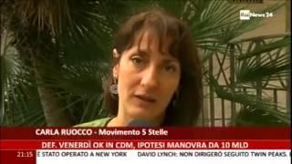 Carla Ruocco (M5S) - Marcia contro la povertà