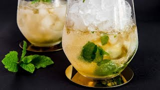 How to make a Mint Julep - Exquisite Cocktail Recipes by Warren Nash