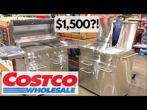 Signateur Island Grill With Smoker Costco Best 2019 Only 1 499 Youtube