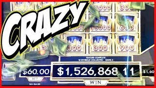 1.5M on BILLIONS SLOT AT G2E! THIS GAME IS CRAZY! 🔴 DEMO SLOT PLAY