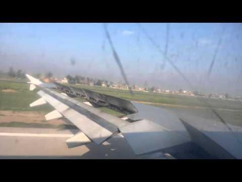 Landing at peshawar airport kualalampur to peshawar pia