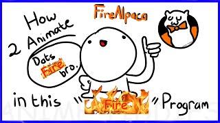 How to Animate iฑ FireAlpaca   Tutorial (READ DESCRIPTION)