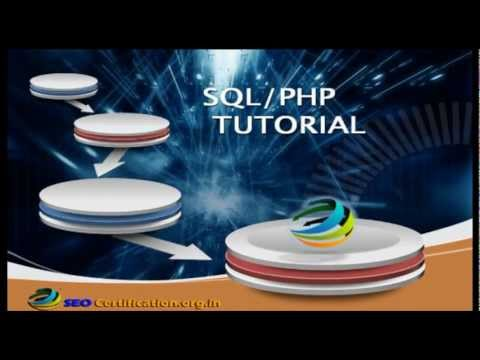 SQL PHP DATABASE CREATION TUTORIAL
