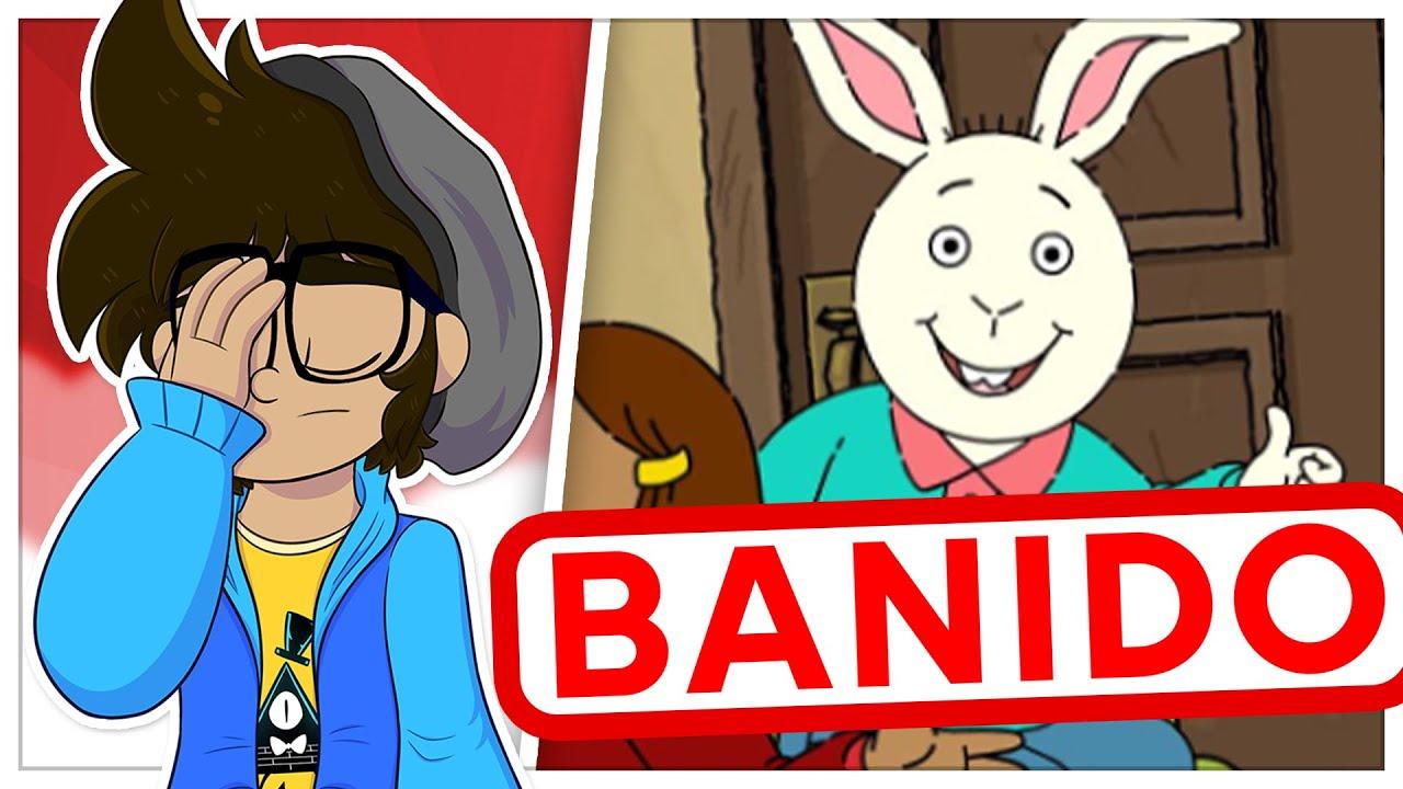O episódio banido de um desenho infantil  - #Shorts