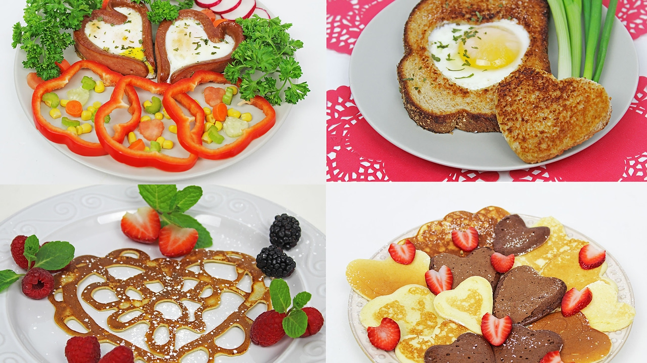 4 Valentineu0027s Day Breakfast Ideas | Valentineu0027s Day Treats