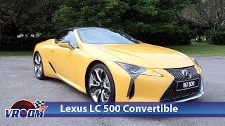 Lexus LC 500 Convertible pada harga bermula RM1.35 juta