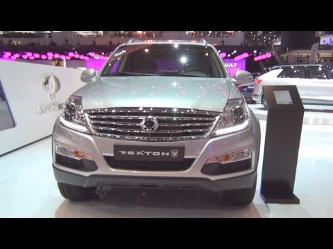 SsangYong Rexton W Sapphire 7AT AWD 2.2 RX220e-Xdi (2016) Exterior and Interior in 3D