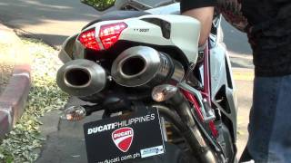 ducati 848 exhaust sound