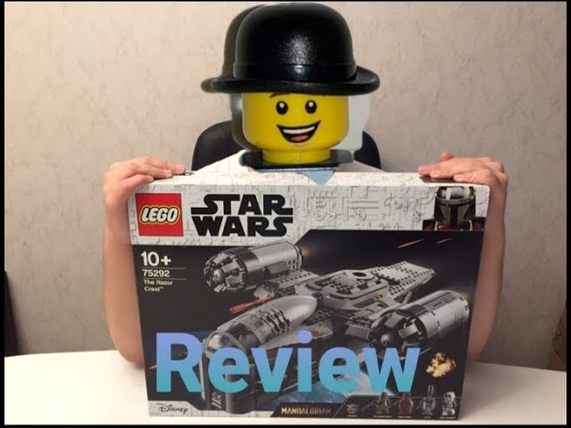 Review Lego Star Wars Razor Crest (Art.75292)