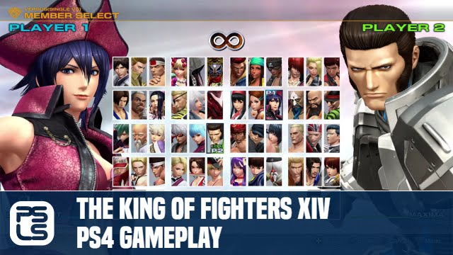 The King Of Fighters Xiv Ps4 Gameplay Youtube
