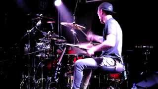 James Cook Drums - The Great Deceiver by Malefice (Drum Playthrough) Wembley Drum Centre 24/04/14