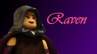 Lego DC: Raven: Custom Minifigure Showcase