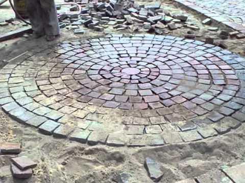 Colocacion 003 mov youtube for Adoquines de cemento