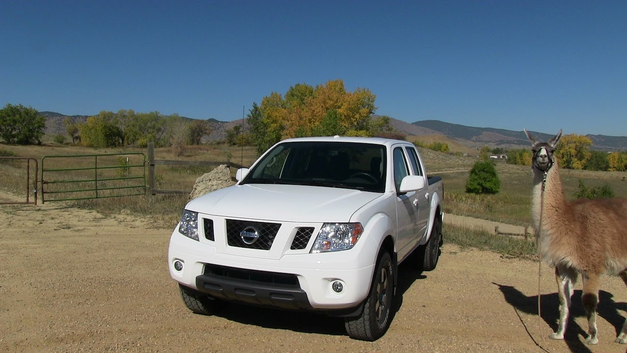 Nissan frontier pick up truck mile high 0 60 mph test review youtube