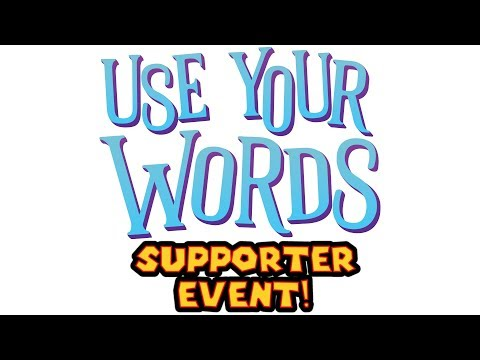 Use Your Words With Youtube Sponsors & Twitch Subscribers!