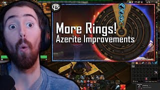 "Asmongold Reacts To ""The Future Of Azerite Revealed"" By Preach Gaming"