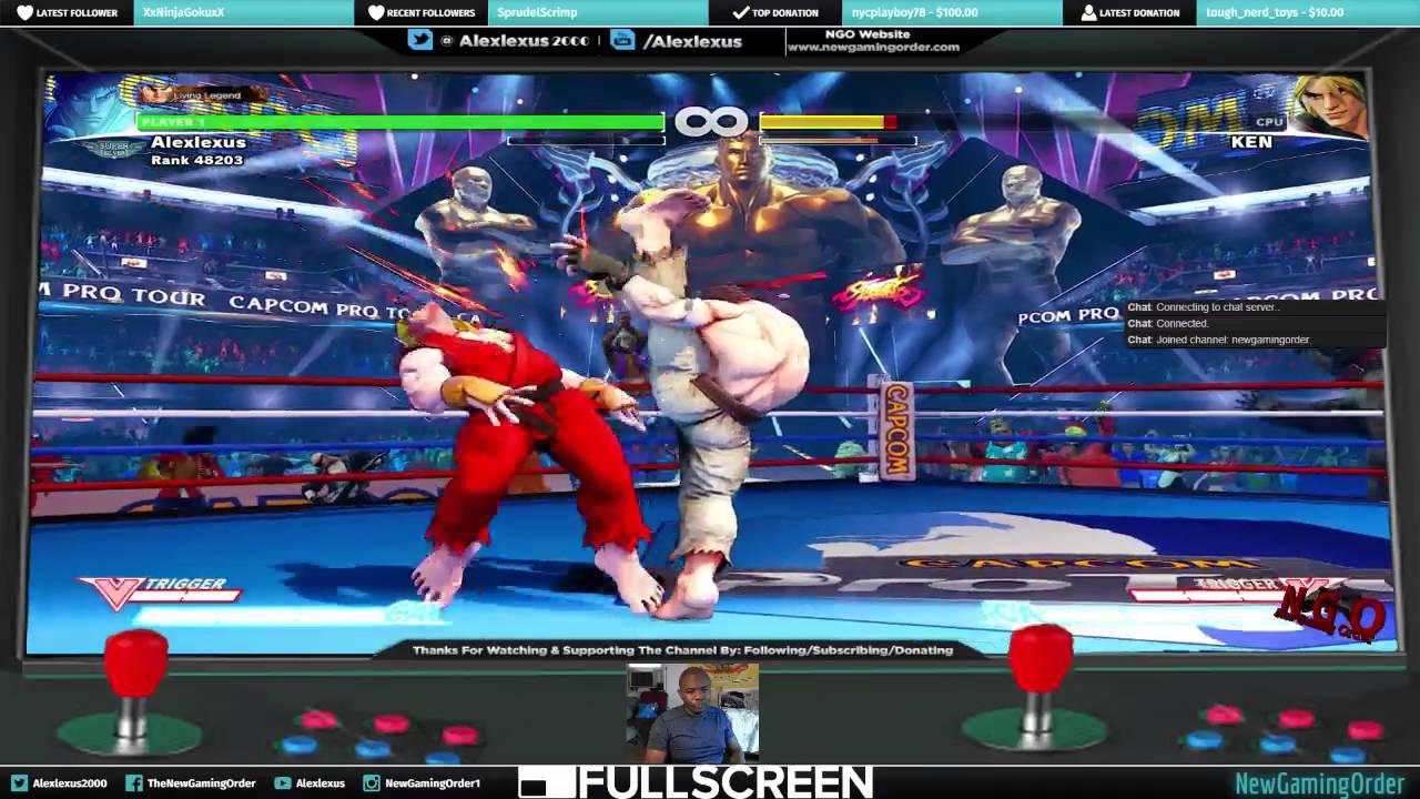 Street Fighter Stream