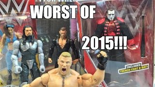 Download Video TOP 5 WORST WWE Mattel Wrestling Figures of 2015 by Grims Toy Show! MP3 3GP MP4