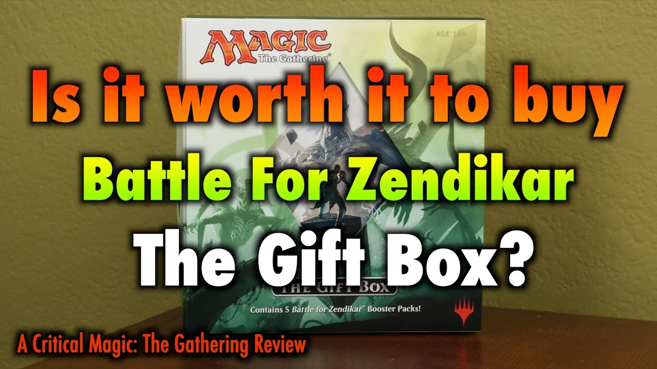 MTG - Is it worth it to buy the Battle For Zendikar Holiday Gift ...