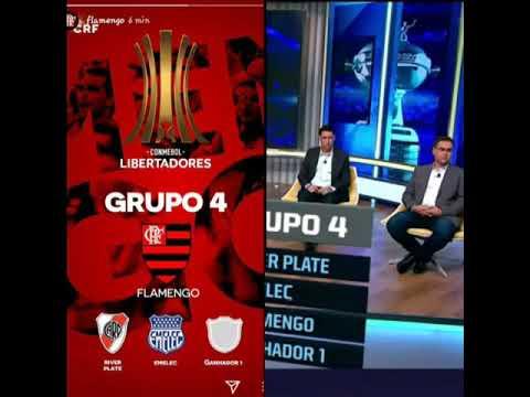 Flamengo no Grupo da Morte Libertadores 2018🔴⚫👊