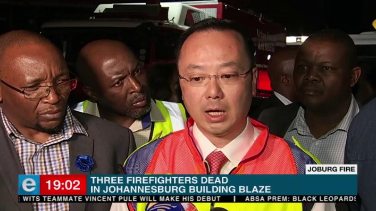Gauteng Premier responds to #JoburgFire