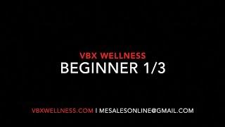 VBX Wellness - Beginner Video #1