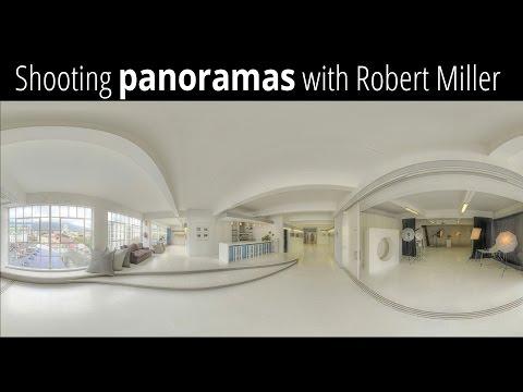 Shooting a 360 Panoramic Image with Robert Miller