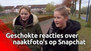 In Veghel circuleren naaktfoto's van leerlingen via Snapchat, ouders zijn per brief gewaarschuwd.