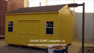 This Video Previously Contained A Copyrighted Audio Track. Due To A Claim By A Copyright Holder, The Audio Track Has Been Muted.     Storage Sheds Cajun Dome Lafayette, La